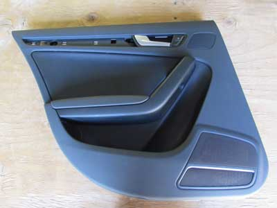 Audi OEM A4 B8 Door Panel, Rear Left 8K0867305 2009 2010 2011 2012 Sedan
