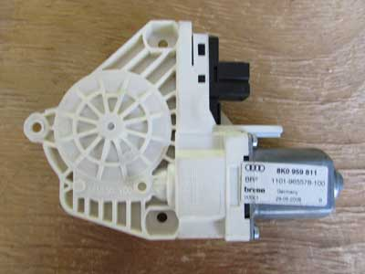 Audi OEM A4 B8 Door Window Regulator Motor, Rear Left 8K0959811 09 10 11 12 13 14 15 16 S4 Q5