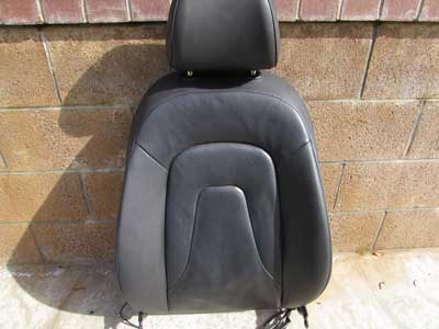 Audi OEM A4 B8 Front Seat Upper Back Cushion w/ Headrest, Left Driver's Side 2009 2010 2011 2012