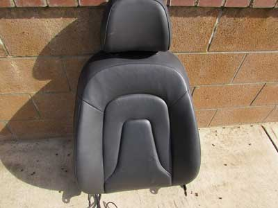 Audi OEM A4 B8 Front Seat Upper Back Cushion w/ Headrest, Right Passenger's Side 2009 2010 2011 2012