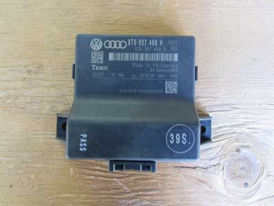 Audi OEM A4 B8 Gateway + BEM Bus Control Module Unit Diagnostic Interface Computer Temic 8T0907468H 2009 2010 2011 A5 S5 Q5