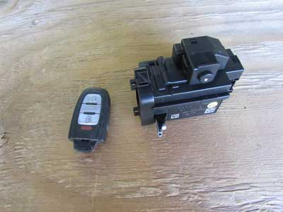 Audi OEM A4 B8 Ignition Switch w/ Key 8K0909131C 09 10 11 12 13 14 15 16 A5 Q5 S5