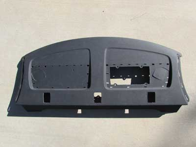 Audi OEM A4 B8 Rear Deck Package Shelf Interior Trim Panel Cover 8K5863411AC 2009 2010 2011 2012 2013 2014 S4
