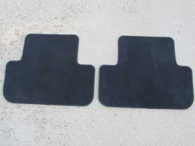 Audi OEM A4 B8 Rear Floor Mats (Pair) 8K0864450 2009 2010 2011 2012