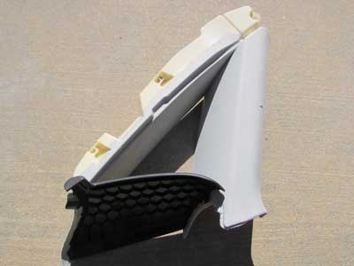 Audi OEM A4 B8 Side Window Trim Panel Cover Quarter Glass, Rear Left 8K5867287 2009 2010 2011 2012 Sedan