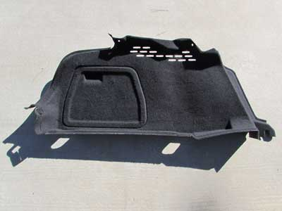 Audi OEM A4 B8 Trunk Interior Side Trim Panel Cover, Left 8K5863887A 2009 2010 2011 2012 2013 2014 2015 S4