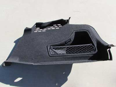 Audi OEM A4 B8 Trunk Interior Side Trim Panel Cover, Right 8K5863888C 2009 2010 2011 S4