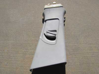 Audi OEM A4 B8 Upper B Pillar Trim Panel Cover, Right 8K0867282A 2009 2010 2011 2012 2013 2014 2015 S4 Sedan Wagon