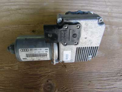 Audi OEM A4 B8 Windshield Wiper Motor 8K1955119 09 10 11 12 13 14 15 16 Allroad