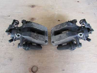 Audi TT MK1 8N Rear Brake Calipers w/ Carrier Brackets (Pair)