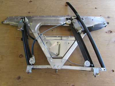 Audi TT MK1 8N Roadster Convertible Aluminum Door Frame with Window Regulator, Left 8N7837729A