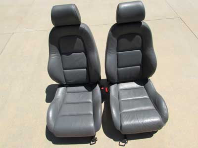 Audi TT MK1 8N Sports Front Seats w/ Napa Fine Leather and Suede Accents (Pair)