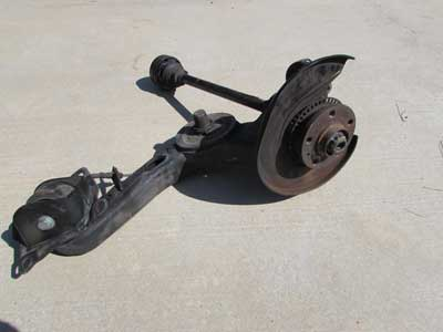 Audi TT MK1 8N Trailing Arm Wheel Carrier w/ Axle, Rear Left 1J0505227F 1.8L Quattro