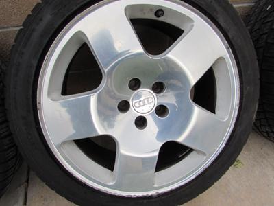 Audi TT Mk1 8N Fat 5 Phat Five Rims Wheels w/ Tires Falken ...