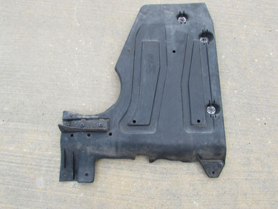 Audi TT Mk1 8N Fuel Tank Skid Plate Lower Trim Panel, Left 8N0825213D