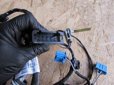 audi tt mk2 8j oem ac heater box blower motor wiring harness audi tt mk2 8j oem ac heater box blower motor wiring harness 8j1971566b 2008 2009 20104
