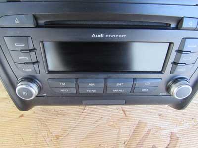 audi tt mk2 8j oem concert stereo cd player head unit. Black Bedroom Furniture Sets. Home Design Ideas