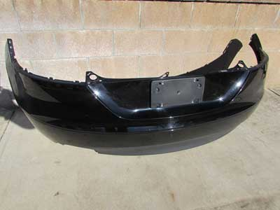 Audi TT Mk2 8J OEM Rear Bumper Cover Black 8J0807317 2007 2008 2009 2010 2011 2012 2013 2014