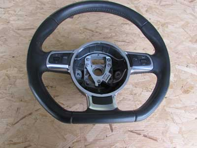 Audi TT Mk2 8J OEM Steering Wheel Black 8J0419091C R8 2008 2009 2010 2011 2012 2013 2014 2015