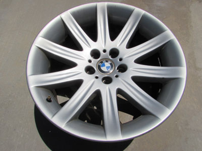 BMW 19x10 Rear Rim Wheel Star Spoke 95 36116753242 E65 E66 745i 745Li 750i 760i