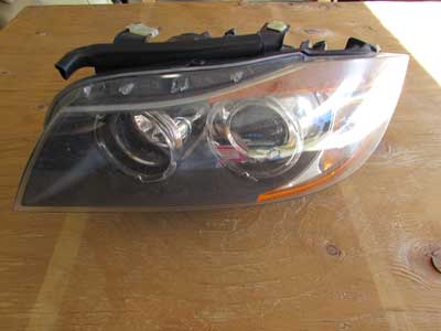 BMW Adaptive Xenon Headlight w/ Control Modules, Left ZKW 63117161669 E90 E91 323i 325i 328i 330i 335i Coupe Wagon