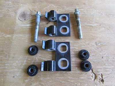BMW Door Hinges Front Left 41517046050 E90 E91 323i 325i 328i 330i 335i M3 Sedan Wagon
