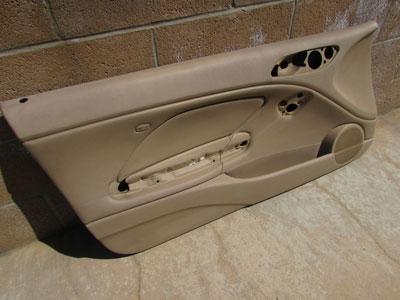 Bmw Door Panel Leather Left 51418224081 E46 323ci 325ci 330ci M3 Hermes Auto Parts
