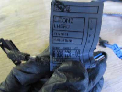 bmw door wiring harness rear right 61126938226 e90 e91 323i 325i bmw door wiring harness rear right 61126938226 e90 e91 323i 325i 328i 330i 335i m3