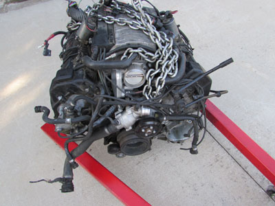 BMW Engine, N62, V8, 4.4L 83K Mi 11000427234 E65 E66 745i 745Li