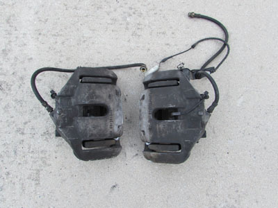 BMW Front Brake Calipers (Pair) 34116756303 E60 E63 E64 E65 E66