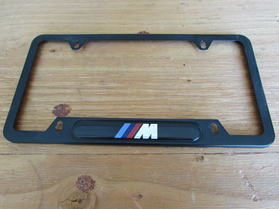 BMW M Black License Plate Frame