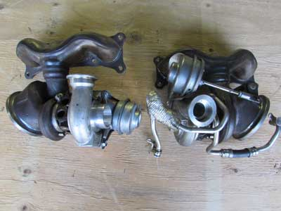 BMW MHI TD03L4 Turbochargers Turbos N54 Bi Turbo (Includes Pair) 11657563686 E90 E92 E93 335i 335xi 335is