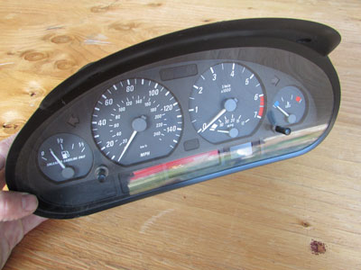 BMW Motometer Instrument Cluster Gauges 62116911311 E46 323Ci 325Ci 330Ci Coupe and Convertible Only