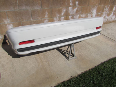 BMW Rear Bumper Cover w/ Brace 51128222609 E46 323Ci 325Ci 330Ci Coupe and Convertible Only