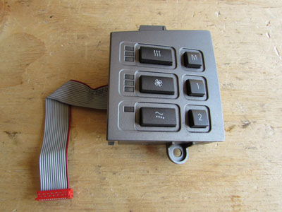 BMW Seat Switch, Delphi, Left 61316918410 E65 E66 745i 745Li 750i 750Li 760i 760Li