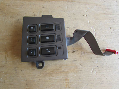 BMW Seat Switch, Delphi, Right 61316918411 E65 E66 745i 745Li 750i 750Li 760i 760Li