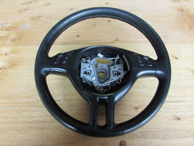 BMW Sport Steering Wheel, Black Leather 32306770417 E46 323i 325i 330i