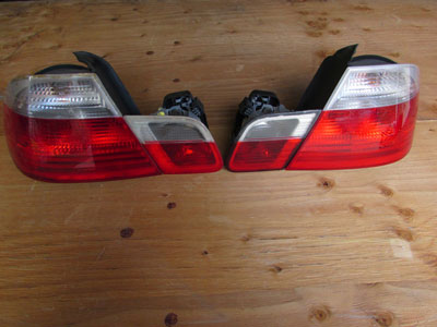 BMW Tail Lights (Set of 4) 63218383826 E46 323Ci 325Ci 328Ci 330Ci M3 Coupe Only