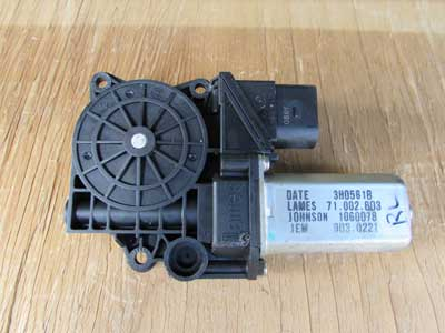 BMW Window Lifter Motor Drive Brose, Rear Left 67626927025 E90 E91 323i 325i 328i 330i 335i Sedan Wagon Only
