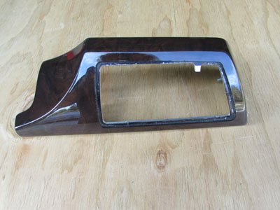BMW Wood panel, Instrument Panel, left 51457025307 E65 E66 745i 745Li 750i 750Li 760i 760Li