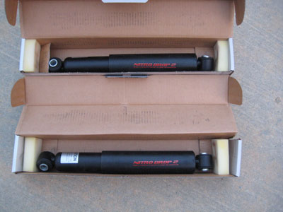 Belltech Nitro 2 Drop Shocks (92-94 Dodge Ram) Belltech