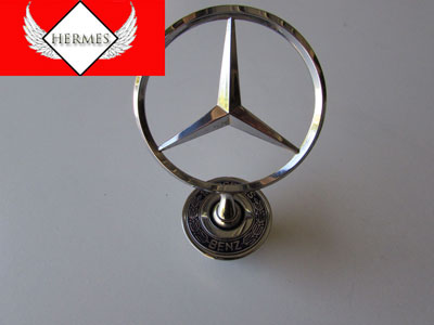 Mercedes Hood Ornament Emblem 2108800186 Hermes Auto Parts