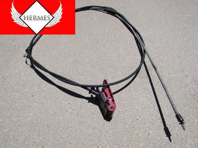 Mercedes Hood Release Handle w/ Cable 2048800020 W208 CLK320 CLK430 CLK55 AMG