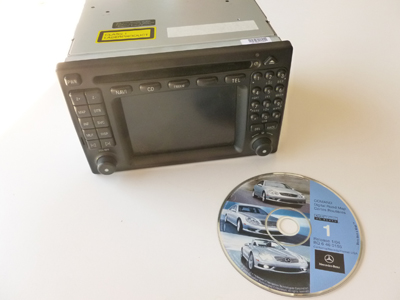 Mercedes Navigation Head Unit Comand 2.0 A2088204189 W208 CLK320 CLK430 CLK55 AMG
