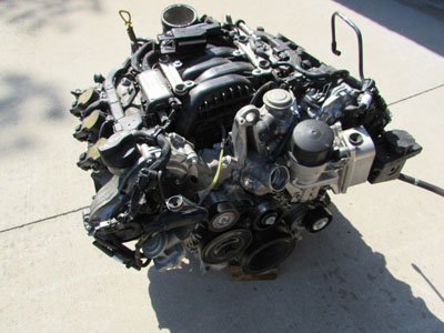 Mercedes r171 engine motor 3 5l v6 m272 2009 2011 slk350 for Mercedes benz 3 2 v6 engine