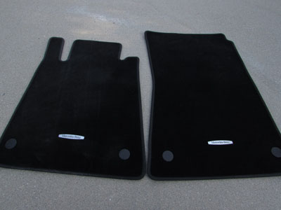 Mercedes R171 Floor Mats (Includes Pair) A1716802448 SLK280 SLK300 SLK350 SLK55