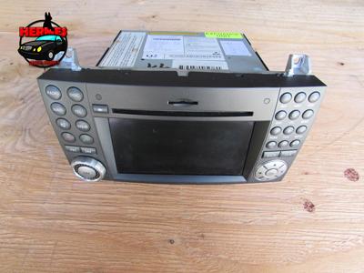 Mercedes r171 radio navigation stereo gps screen comand for Mercedes benz ml320 radio code