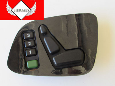 Mercedes Seat Controls Switches on Door, Left 2108209110 W208 W210 CLK, E, G Class