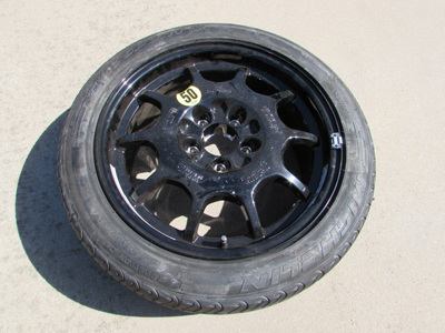 Mercedes Spare Wheel Tire Rim A2104011802