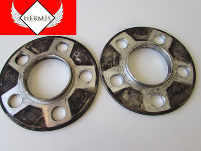 Wheel Spacers (Pair) 5 x112 6mm